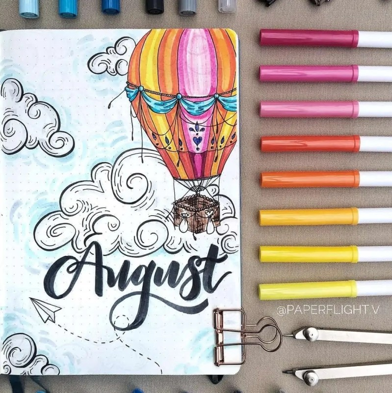 100+ Bullet Journal Ideas that you have to see and copy today! 604