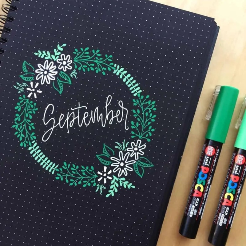 100+ Bullet Journal Ideas that you have to see and copy today! 676