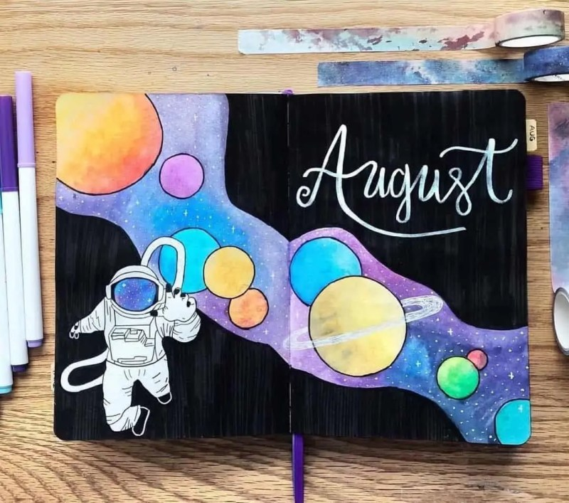 100+ Bullet Journal Ideas that you have to see and copy today! 602