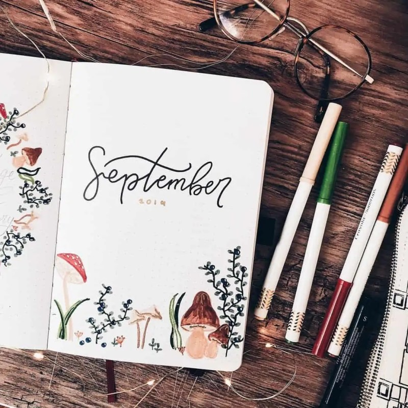 100+ Bullet Journal Ideas that you have to see and copy today! 670