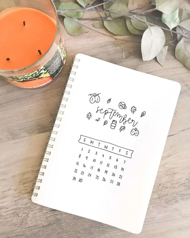 100+ Bullet Journal Ideas that you have to see and copy today! 668