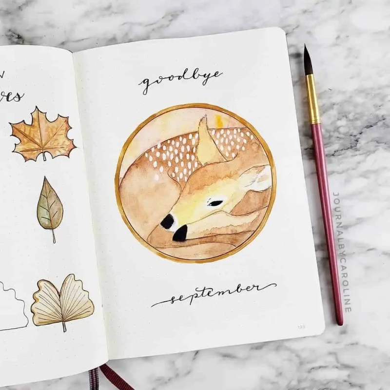100+ Bullet Journal Ideas that you have to see and copy today! 662