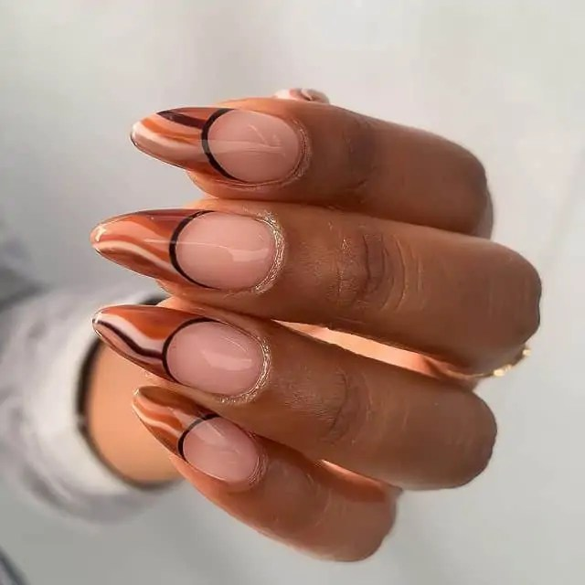 Fall Nails Ideas that you have to see 83