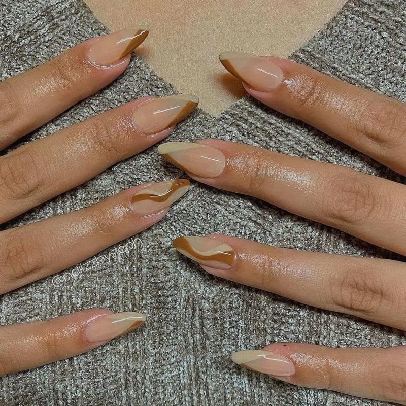 Fall Nails Ideas that you have to see 229