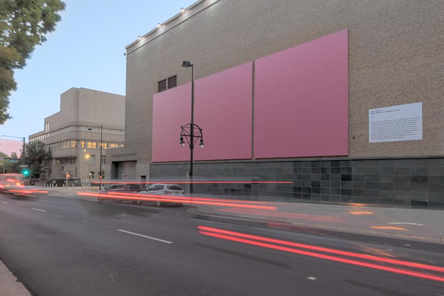 Baker-Miller-Pink by John Roemer. Photo: Third Dune Productions