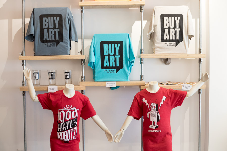 Shon Taylor / God Hates Robots Gallery