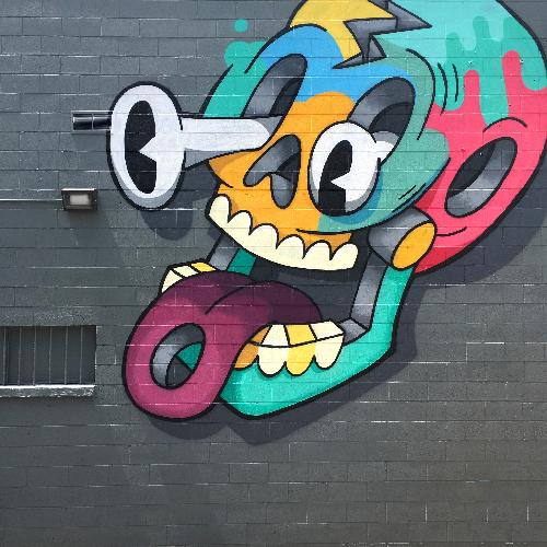 Trent Call - Metro Bar Mural