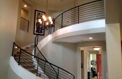 Metal Stair Railings Arizona Wrought Iron Stainless Steel Copper | Wrought Iron Stair Railing Near Me | Steel | Spindles | Wood | Front Porch Railings | Stair Spindles