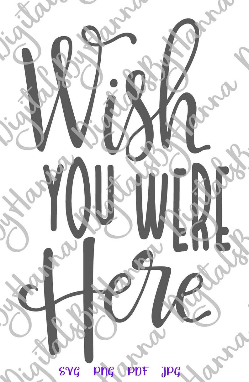 medium resolution of bff svg files for cricut wish you were here miss best friend print tee clipart cut