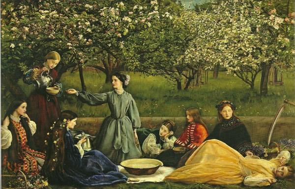 Pre-Raphaelite Paintings of Women