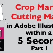 Crop Marks or Cutting Marks Script for Adobe Illustrator P1