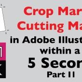 Crop Marks or Cutting Marks Script for Adobe Illustrator P2
