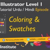 Adobe Illustrator Episode 08 – Coloring Techniques – Urdu/Hindi