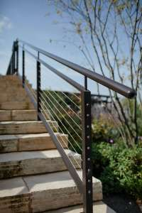 Modern Outdoor Railing