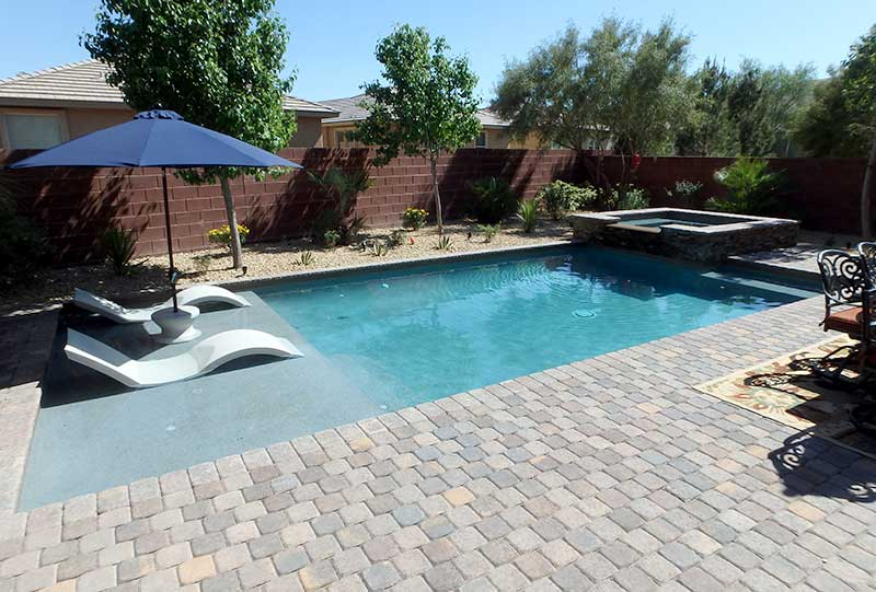 home artistic pool and spa