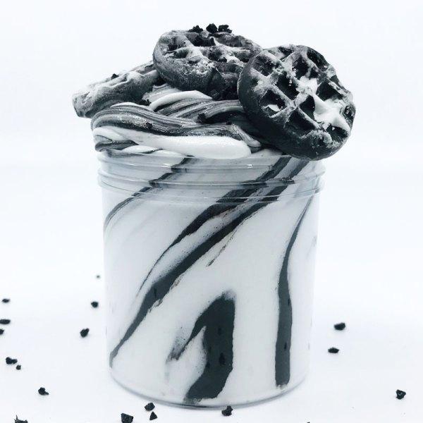 oreo-waffles-slime