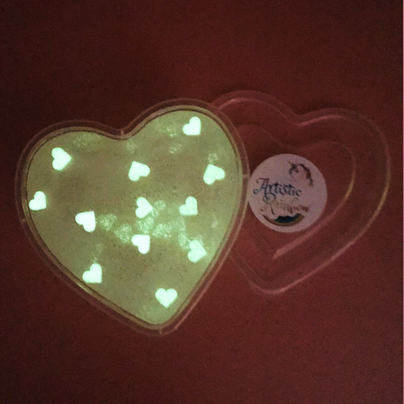Glowing Love Slime