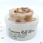 Cinnamon Roll DIY Slime