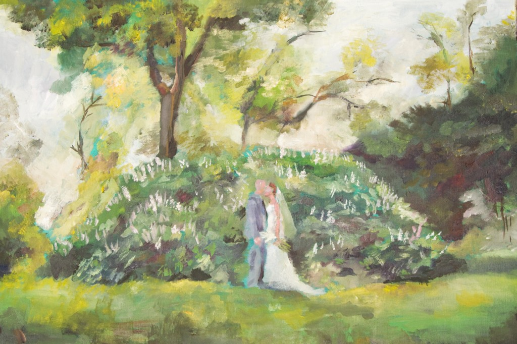 New Offering! – Oil On Canvas Wedding Paintings Artistic