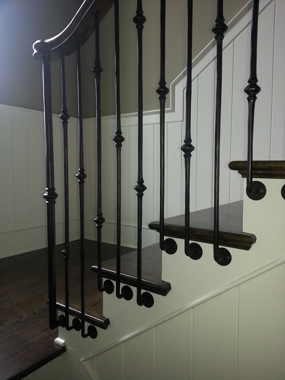 Wrought Iron Deck Spindles