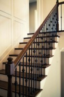 Straight Stairs Design & Construction   Artistic Stairs
