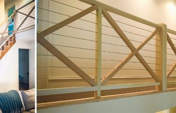 Modern Inspiration Custom Cable Railing Systems Southern | Diy Interior Cable Railing | Front Step | 42 Inch | Modern | Wire | Low Cost