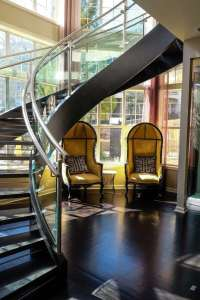 Open Riser Stairs | Custom Stairs | Artistic Stairs