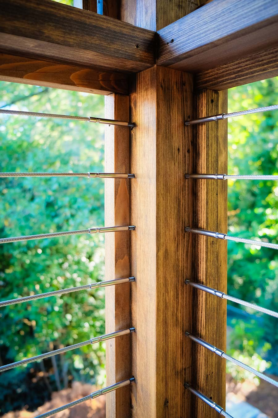 Exterior Wood Railing Designs