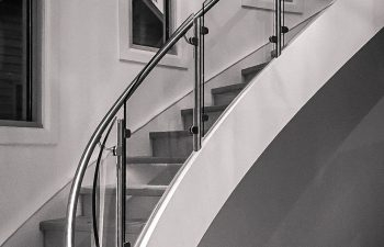 On The Coast Stair Design And Trends Southern Staircase | Staircase Outside House Design | Curved | Modern | Cool | Residential | Up Balcony