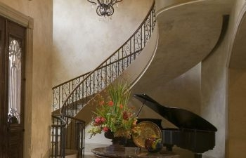 Why You Should Consider Tuscan Custom Stairs And Wrought Iron | Metal Railing Designs Stairs | Rot Iron Staircase | Step | Luxury | Creative Outdoor Stair | Curved Railing