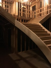 Southern Flared Staircase | Artistic Stairs Southern Staircase