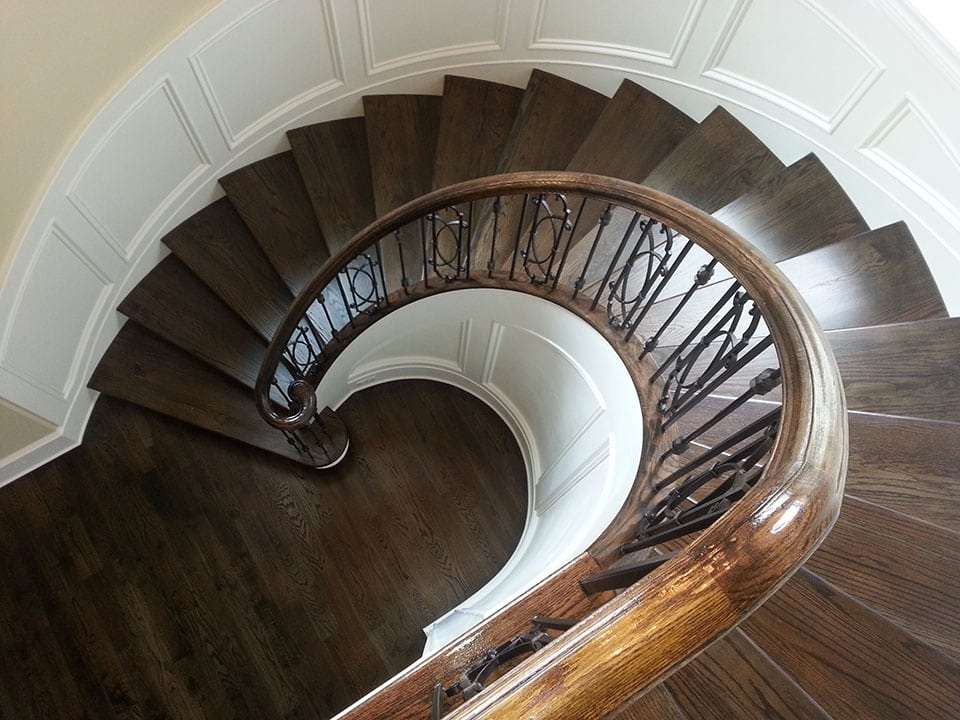 Curved Stairs Southern Staircase Artistic Stairs | Half Round Stairs Design | Half Circle Staircase | Frame | Plan | Metal | Indian Style