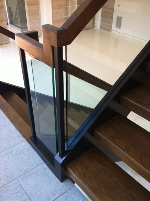 Glass Staircase Southern Staircase Artistic Stairs | Stair Railing Design Glass | Basement Stairs | Modern Staircase | Stair Treads | Oak Staircase | Stainless Steel Railing