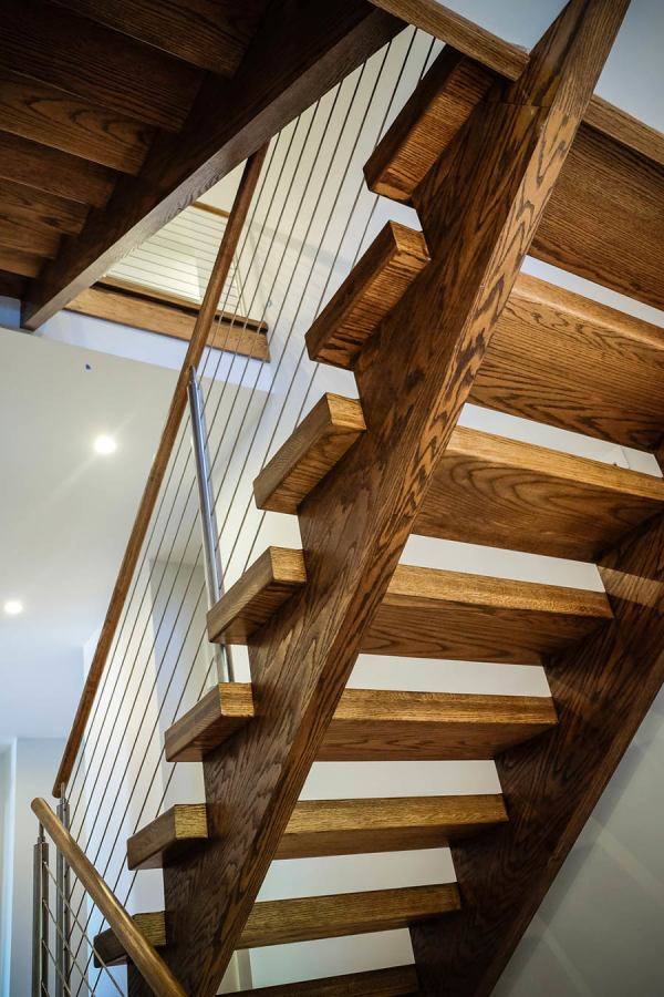Open Riser Stairs  Open Staircase Designs  Southern