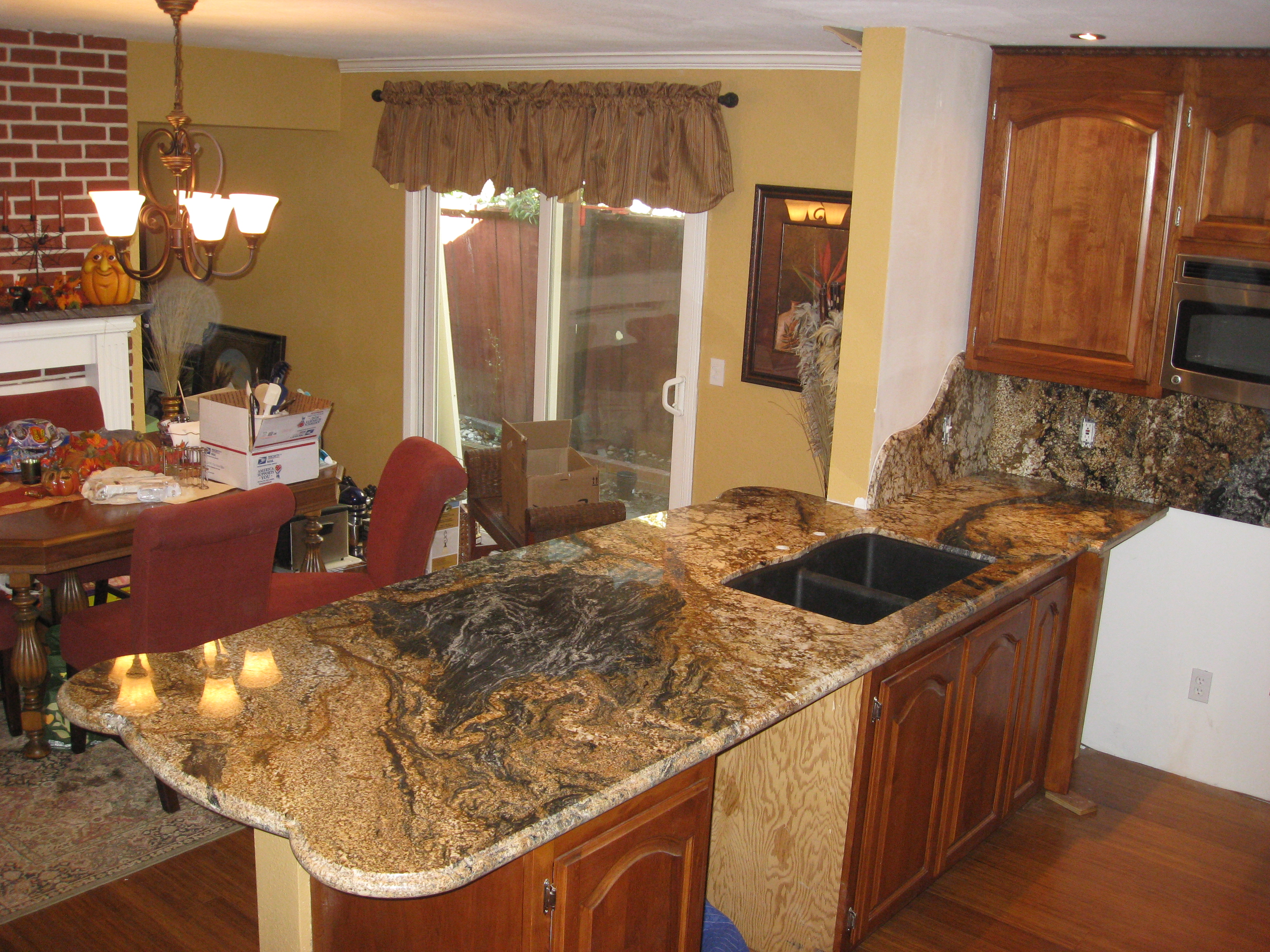 Magma Gold Granite Countertops Magma Gold 3cm American Granite