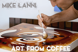 Artistic Paintings made from Coffee Brew [VIDEO]