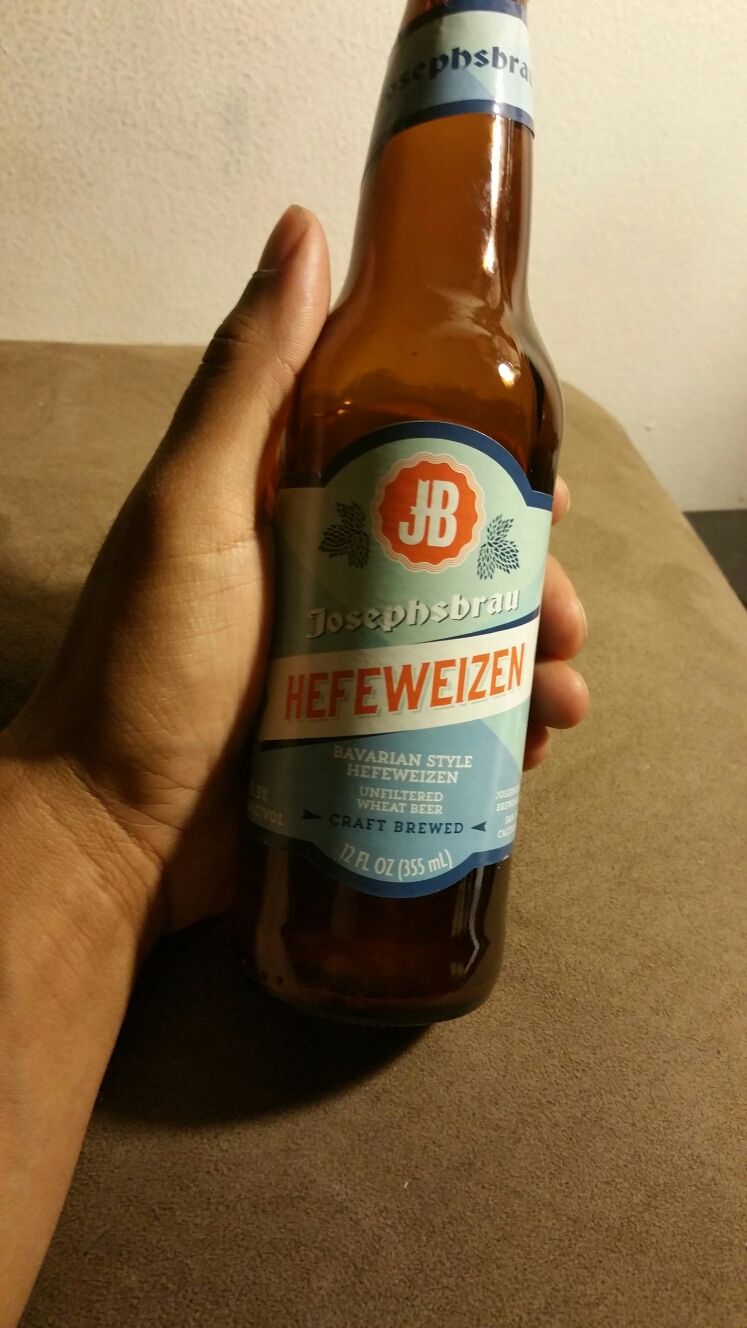 Got Sick off this Bavarian Style Hefeweizen from Trader Joe's