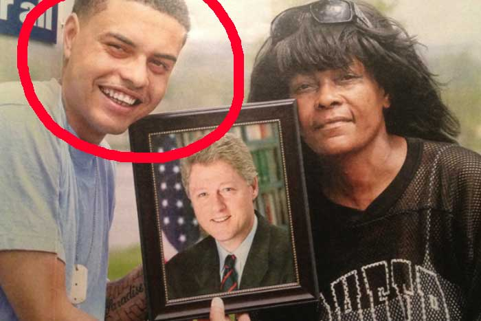 danney willaiam bill clinton son and mother