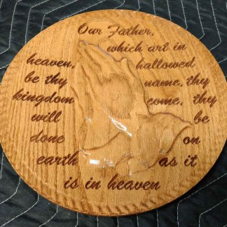 Lord's Prayer Dish