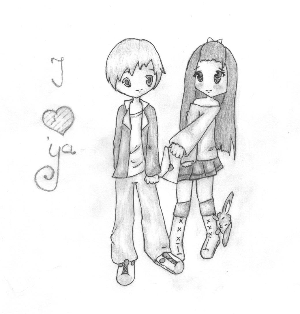 Cute Easy Drawing For Valentine S Day Cute Drawings For Him Pencil