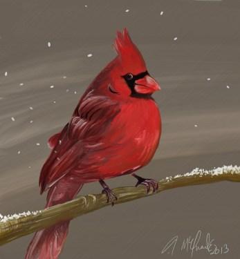 Carmen's Cardinal, 2014