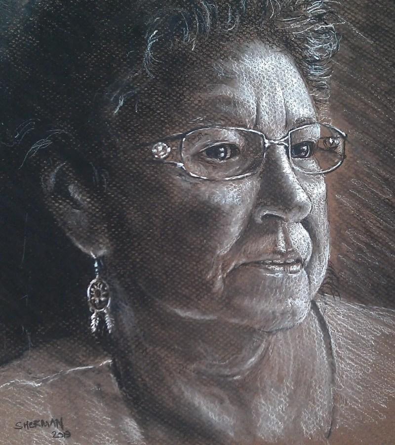 Charcoal Drawing Chiz Matthews