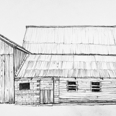 Double Peaked Barn