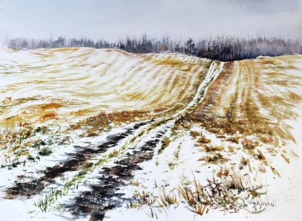 painting title Wing Road Hunter Access