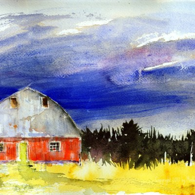 Pinery Road Watercolor