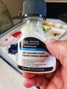 Art Masking Fluid bottle