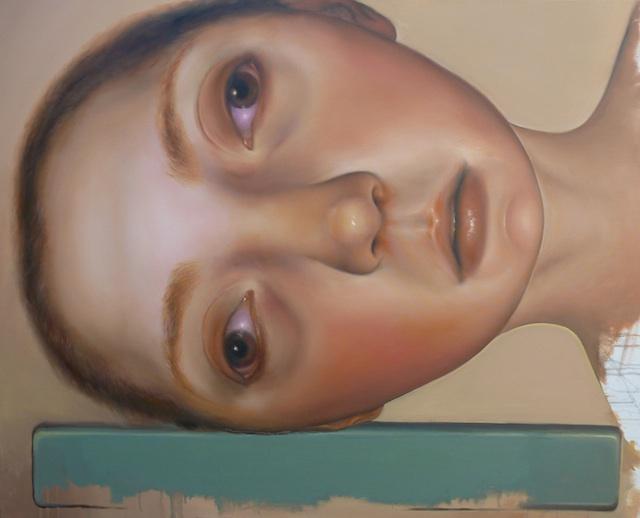 """Artist: Veronica Jaeger City: Pharr, TX Title(s): Fallen 1 & Fallen 2 Medium: Oil on Canvas Size: 48"""" x 60"""""""