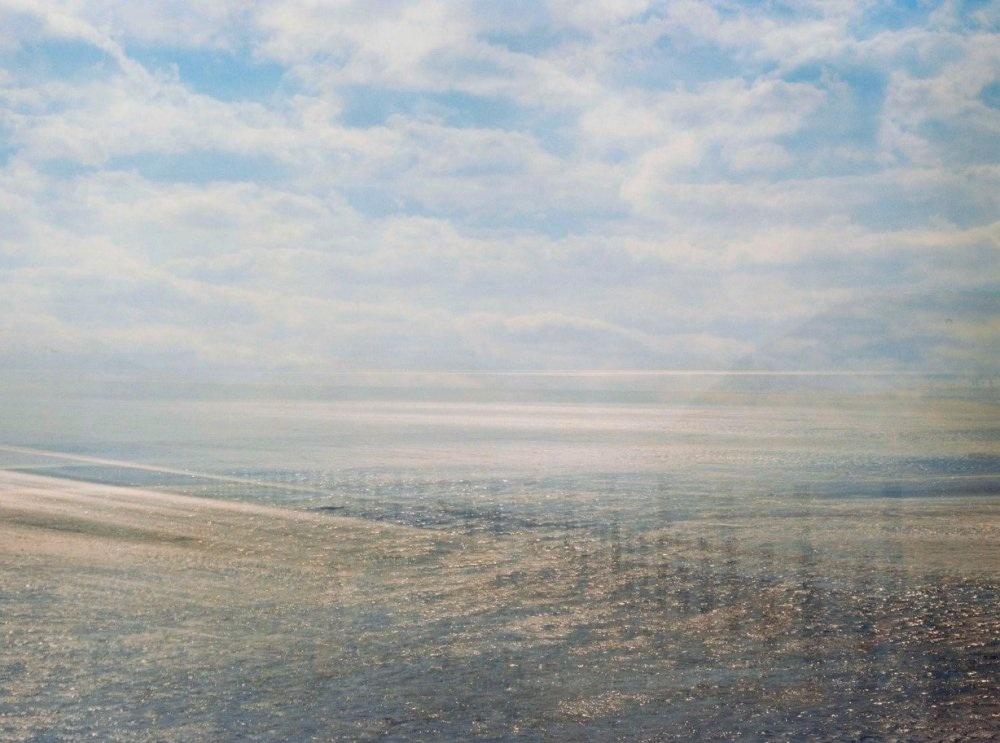 John Brooks - Bristol, UK Title: Light /Space / Sea Medium: Analog photo Size: 20 x 16