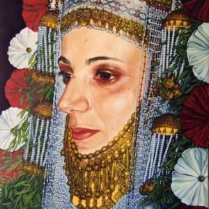 Giora Eshkol - Mönchengladbach, Germany Title: Bride Medium: oil on canvas Size: 60x90