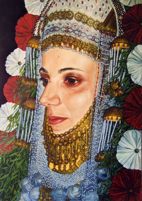 Giora Eshkol - Mönchengladbach, Germany Title: Bride Medium: oil on canvas Size: 60x90